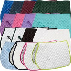 The Rider's International® by Dover Saddlery Quilted Pad is a must-have in every color! This durable all-purpose saddle pad will hold up to everyday use and many washings. Blue Horse, My Horse, Horse Riding, Horse Saddle Pads, Horse Gear, Dressage Saddle, Saddle Rack, Horse Tips, Equestrian Outfits