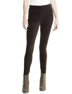 Indigo Collection Corduroy Leggings  Product Code: T663511 £18.00 Size 10 Long Colour: Chocolate Brown