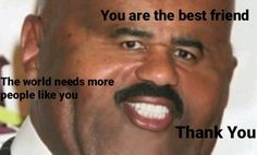 When your friend buys you food