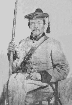 John Thomas, a private in Company D of the 44th Mississippi Infantry Regiment, CSA