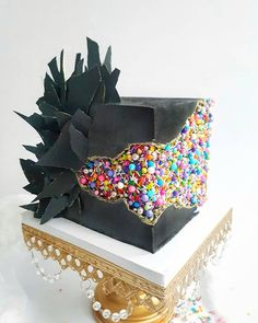 I& so excited to share this cake today!- Ich bin so aufgeregt, diesen Kuchen heute zu teilen! Ich habe es im Rahmen der I& so excited to share this cake today! I have it in the context of made … – (cup) cakes – - Pretty Cakes, Cute Cakes, Beautiful Cakes, Amazing Cakes, Unique Cakes, Creative Cakes, Unicorn Sprinkles, Ultimate Chocolate Cake, Cakes Today