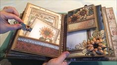 Heartfelt Creations 3D Flip Fold Album - Classic Sunflower Collection