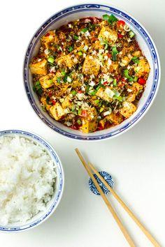 Mapo-Tofu mit Jasminreis