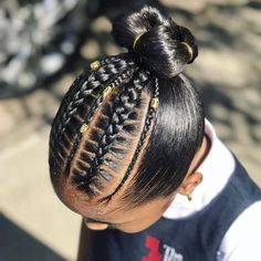 Can You Ignore These 75 Black Kids Braided Hairstyles? - Curly Craze Can You Ignore These 75 Black Kids Braided Hairstyles? Black Kids Braids Hairstyles, Teenage Hairstyles, Baby Girl Hairstyles, Natural Hairstyles For Kids, Black Girl Braids, Cute Hairstyles, Natural Hair Styles, Children Hairstyles, Lil Girl Hairstyles Braids