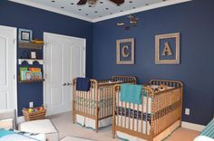 Project Nursery - Jenny Lind Cribs Painted Gold