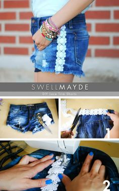 Great DIY Shorts Ideas For The Summer