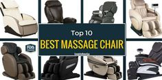 The Top 10 Massage Chairs (and More) - November 2017