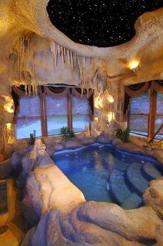 Sanitarios baño / bañeras de baño: La cueva de Ali Baba… un #baño de lujo!. #decoración #baño #bañera