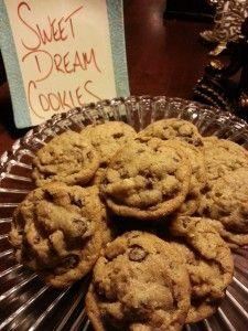 Sweet Dream Cookies from Azalea Inn in Savannah, GA. Recipe online at wanderwithwonder.com