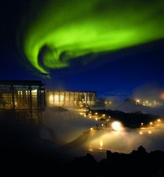 Blue Lagoon - northern lights | by Discover the World
