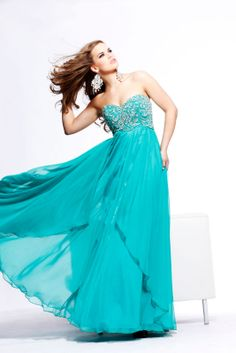 2013 Sherri Hill 3802 Turquoise Homecoming Dresses