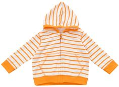 Orange Marseille Stripe Hoodie