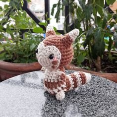 [FREE SHIPPING] Chibi Furret amigurumi by NVkatherine on DeviantArt