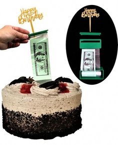 Surprise Box Kit Money Cake Money Pulling Cake Making Gold Cake Topper, Cake Toppers, Food Safety Guidelines, Happy Birthday, Birthday Box, 12th Birthday, Birthday Cakes, Birthday Ideas, Birthday Gifts