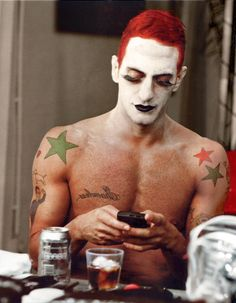 Marc Jacobs...always liked his tattoos
