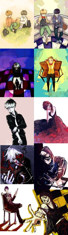 tokyo ghoul collection part 2 by Mastry01