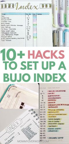 Keep tabs on your life with these BULLET JOURNAL INDEX IDEAS. Find clever tips and simple hacks to organize your bujo spreads from color coding with highlighters or pens to minimalist layout shortcuts to how to set up easy page edge navigation with washi tape, highlighting, corner markings, and diy bookmarks. Your bullet journal has never been this organized! #bujo #bulletjournallove #bulletjournaladdict #bulletjournaljunkie #bujolove #bujoinspire #bujoinspiration #bujocommunity #bujojunkies