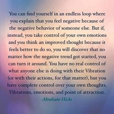 How to turn negative thoughts around!