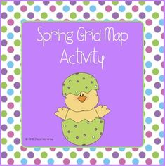 Integrate basic grid map skills with Spring.  The Spring Grid Map Activity will provide your K - 3rd grade students with a simple, enjoyable introduction to reading grid maps.  Each student will create his/her own grid map, and answer basic questions about the grid map on an extension worksheet.
