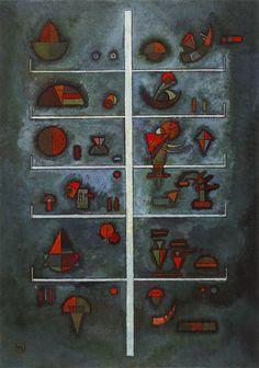 Wassily Kandinsky, Storeys, 1929