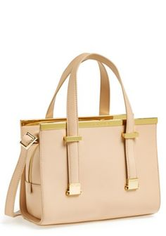 Dream Closet: Ted Baker London Bag in Pink / Gold