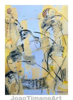 Pintura de João timane   Artista Mocambicano.  Fb: JoaoTimaneArt