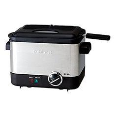 Amazon | クイジナート 電気フライヤー(バスケット付) CDF-100JBS | Cuisinart (クイジナート) | 電気フライヤー