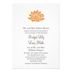 See MoreA Lotus Flower Wedding invitation (orange)in each seller & make purchase online for cheap. Choose the best price and best promotion as you thing Secure Checkout you can trust Buy best