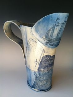 The ship & the whale pitcher - linda fahey we swim with the fishes