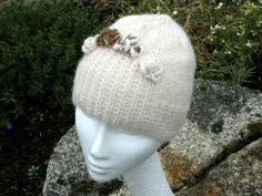 Harmony Hat Kit is made in Chilla Valley Alpaca 100% British alpaca from my own herd.  It is available as a pattern or a kit.