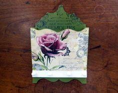 Porta Cartas e Chaves Vintage - Pequeno
