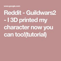 20 Best 3D Printing images in 2019 | Guild wars 2, Blenders, Filing