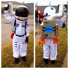 christmas costumes for kids Homemade astronaut costume for kids