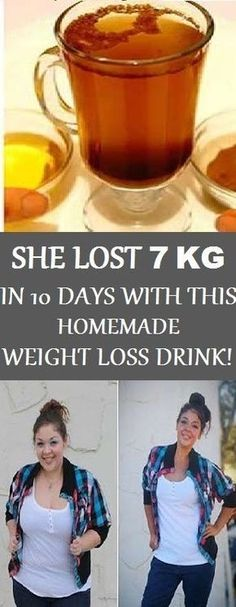 Loose weight drink