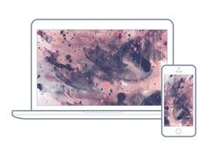 10 | Hello Lovely Living | Free Wallpapers For Your Desktop + Phone | Abstract Watercolor