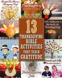 13 Thanksgiving Activities that Teach Gratitude by Christianity Cove