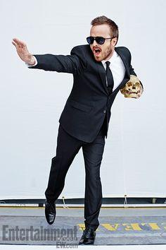 Aaron Paul, 'Breaking Bad', Season 5 ~ Photographed by Alexei Hay ~ September 2013: EW Portraits #ewportraits