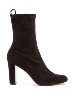 Gena suede ankle boots | Christian Louboutin | MATCHESFASHION.COM UK