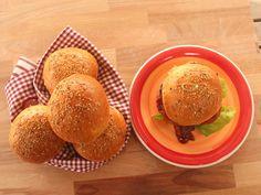 Panini per hamburger: burger buns