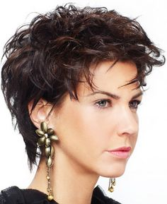 160 Best Short Hair Round Faces Images On Pinterest Curly Hair