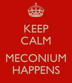 LOL, wait till meconium hits the fan!