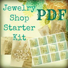 PDF Chainmail Tutorial -  Diy - Jewelry Shop Starter  - Beginners and Intermediate  -  DELUXE Basic Instructions PLUS. 20.00, via Etsy.