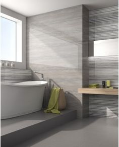Through lineal artistic strokes of monolithic coloration, Velvet offers fabric like, high gloss accent wall tiles. Available in three innovative, various color options, these rectified wall tiles accentuate high tech modernism. Best Flooring, Tile Flooring, Floors, Installing Tile Floor, Floor Outlets, Large Format Tile, Boho Home, Bathroom Inspiration, Bathroom Ideas