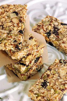 Pumpkin Seed Power Bars - Lexie's Kitchen | Gluten-Free Dairy-Free Egg-Free -