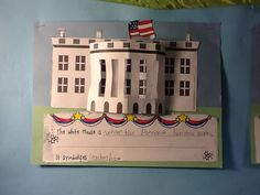 Adventures in Mrs. Martin's Room: American Symbols White House writing and craft FREEBIE.