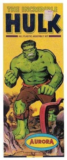 www.hakes.com November 15-17, 2016  Hulk Aurora Model