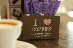 Coffee, Bar, Sugar