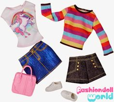 Barbie Dreamhouse - Fashion Packs 2015: