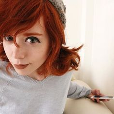 Brigitte Grey✨ And I'm not. Beautiful Red Hair, Lovely Eyes, Beautiful Redhead, Brigitte Grey, Pretty Hairstyles, Girl Hairstyles, Cute Emo Girls, Gray Instagram, Red Heads Women
