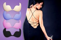 'Invisible' Push-Up Bra - 4 Colours!